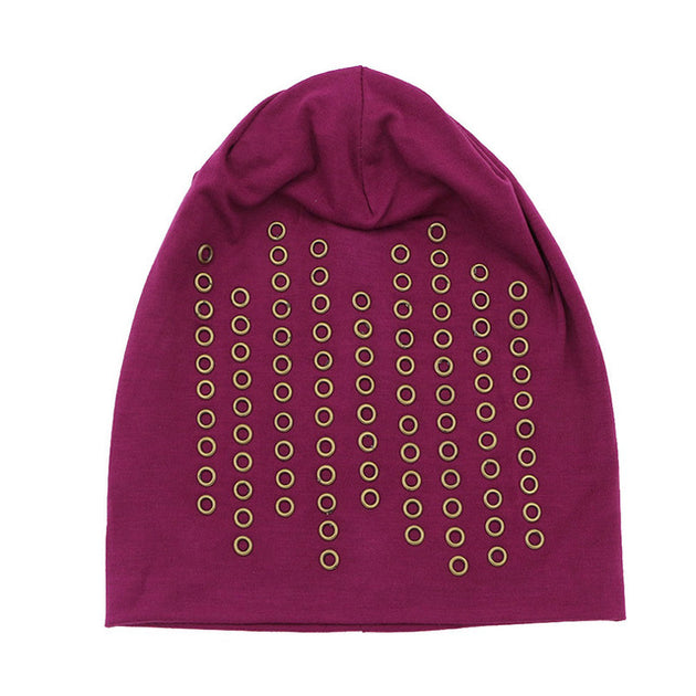 Women s Ring Studded Beanie – Little Toes 5ea8728a4