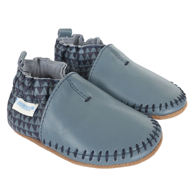 Robeez Classic Moccasin Geo Print Shoes