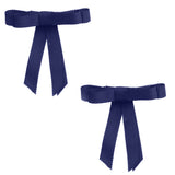 Project 6 NY Grosgrain Bow Clip 2 Piece Set