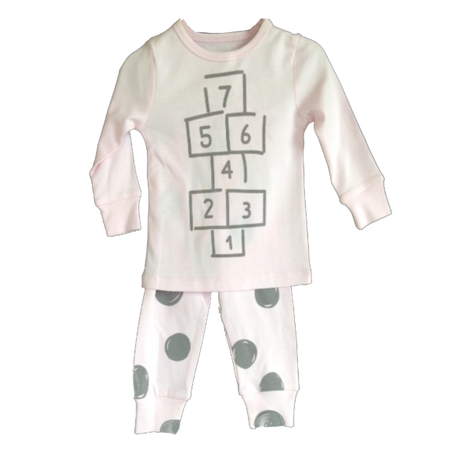 Hide N Seek Hopscotch 2 Piece Pajamas