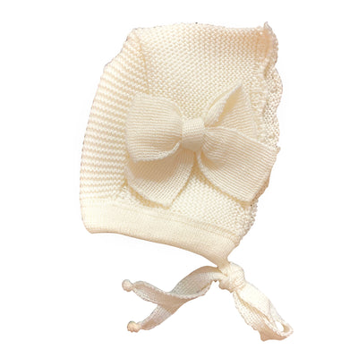 Bonnet with Side Bow