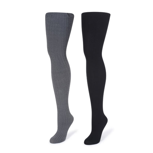 Pur Herringbone Tights
