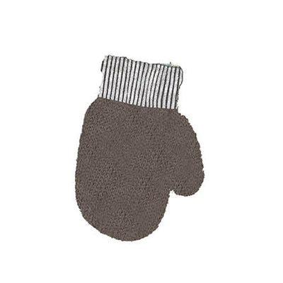 DaCée Designs Metallic Knit Mittens