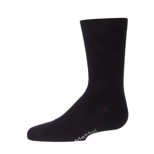 Memoi Boys Bamboo Diamond Sock - MK 182