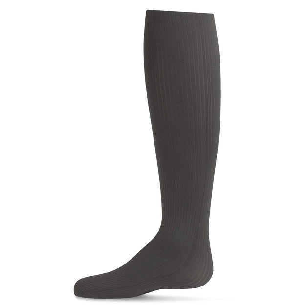 Memoi Fine Ribbed Tights - MK 214