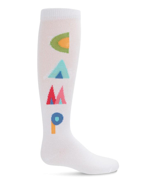 Memoi Camp Rules Knee Sock MKF 7058