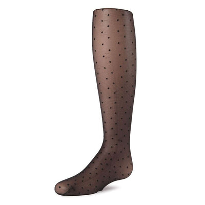 Memoi Sheer Dot Tights - MK 805