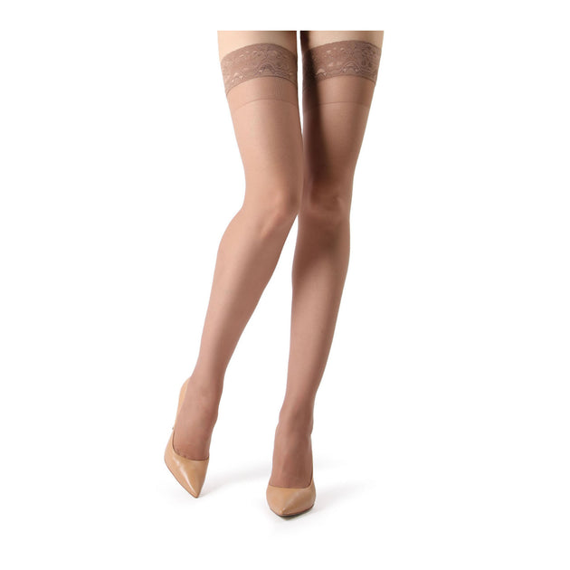Memoi 8 Denier Thigh High Tights - MM 108