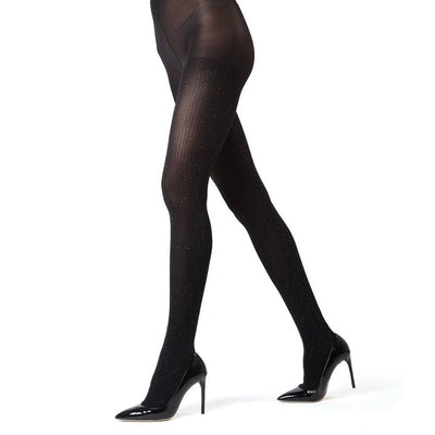 e9c9b49731e3e Memoi Speckled Fashion Opaque Tights