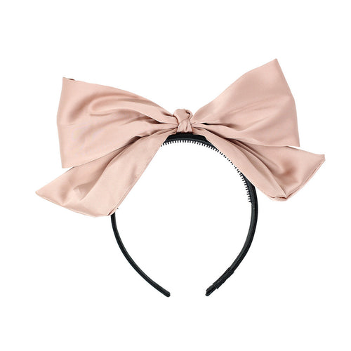 Bandeau Silk Bow Headband