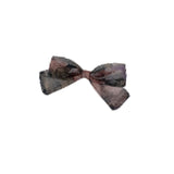 Heirlooms Printed Net Mini Bow