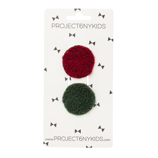 Project 6 NY Olly Rounds Clips Set of 2