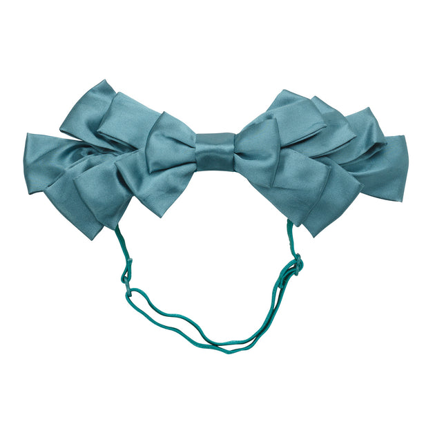 Project 6 NY Pleated Ribbon Baby Wrap Headband