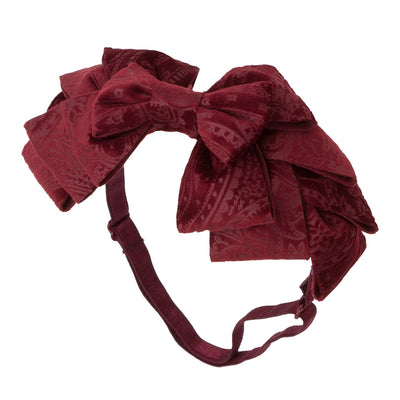 Project 6 NY Pleated Suede Ribbon Wrap