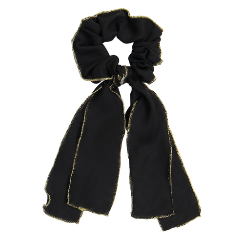 DaCée Designs Chiffon Layered Scrunchy with Tails