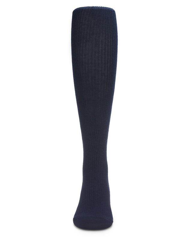 Pin Ribbed Cotton Tights