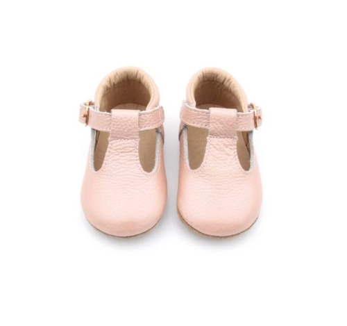 Baby Moccs Mary Jane T-Bar Moccasins