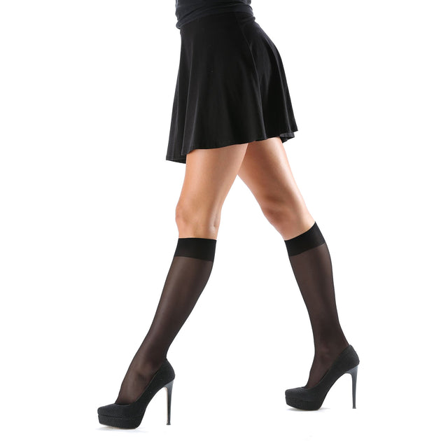 Levante Maxi 20 Denier Knee High Sock