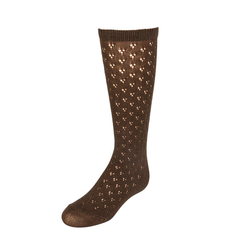 JRP Vintage Crochet Knee High Sock