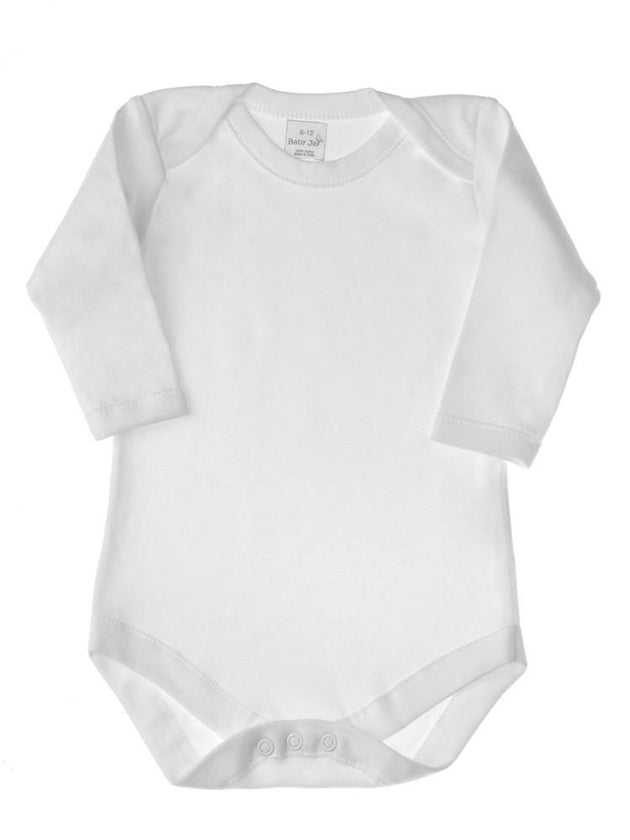 Baby Jay Long Sleeve Envelope Neck Bodysuit - 3 Pack