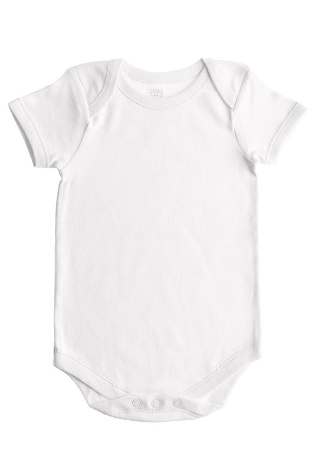 Baby Jay Short Sleeve Envelope Neck Bodysuit 3 Pack