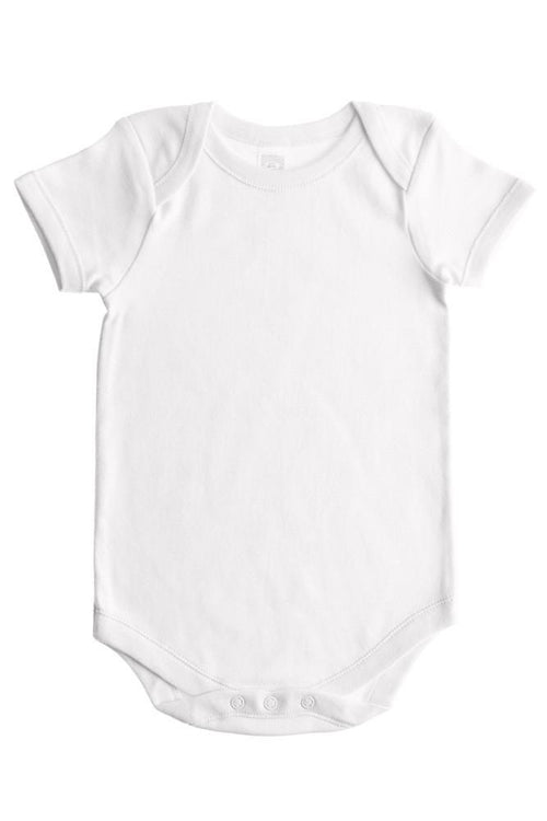 Baby Jay Slim Short Sleeve Envelope Neck Bodysuit - 3 Pack