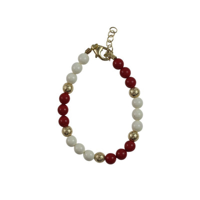 Crystal Dream Sectional Pearl Bracelet