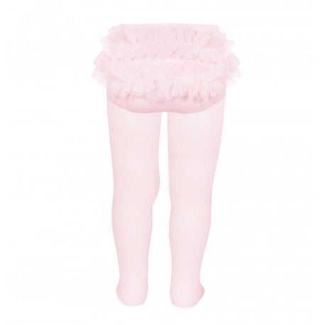 Condor Baby Tights with Tulle Back - 32429/1 2429/1