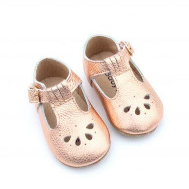Baby Moccs Vintage T-Bar Baby Shoe