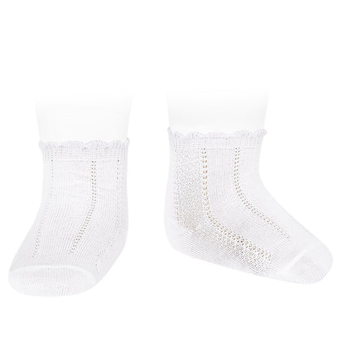 Condor Diamond Patterned Anklet Sock - 2393/4