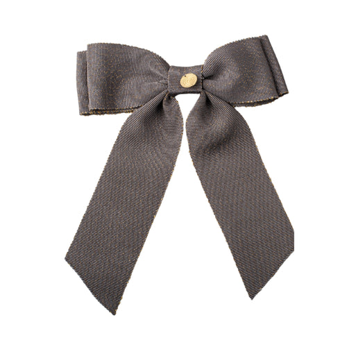 Cherie Grosgrain Looped Bow Clip