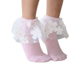 Blinq Collection Floral Tutu Anklet