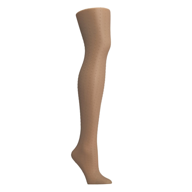 Hanes Fashion Sheer Dot Tights