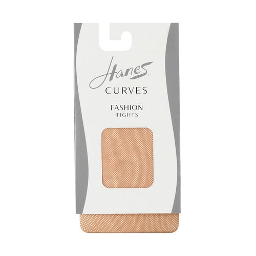 Hanes Curves Fashion Fishnet Tights