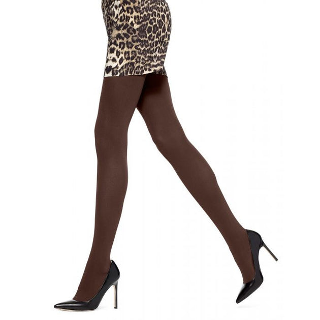 HUE Super Opaque Tights without Control Top