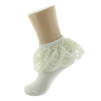 JRP Organza Flower Lace Anklet