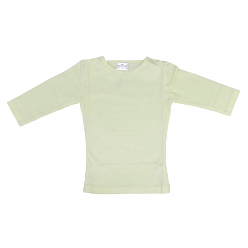 Carlino Girls 3/4 Sleeve Shell