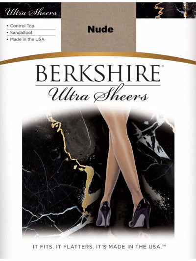Berkshire Ultra Sheer Control Top Pantyhose - Sandalfoot