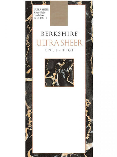 Berkshire Ultra Sheer Knee High Pantyhose - Sandalfoot