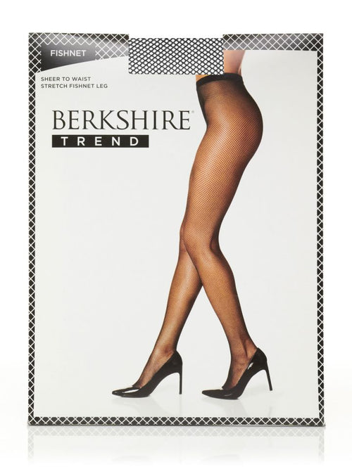 Berkshire Fishnet with Cotton Gusset Tights TREND
