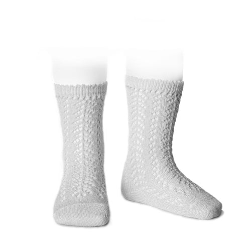 Condor Shimmer Crochet Knee High Sock - 2528/2
