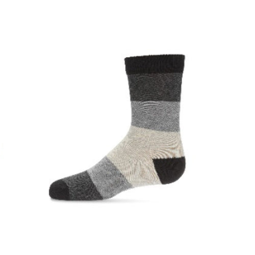Ombre Stripe Boys Crew Socks
