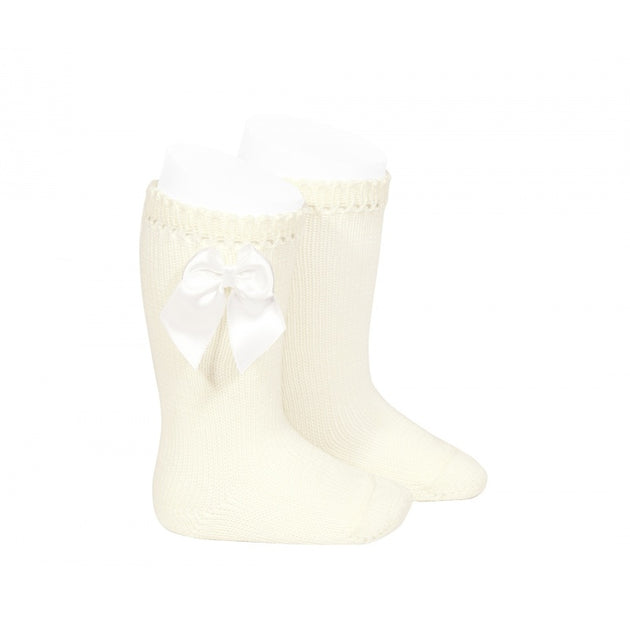 Condor Knee High Sock with Bow - 2551/2