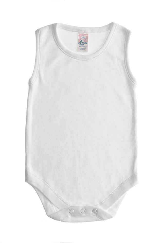 Baby Jay Sleeveless Envelope Neck Bodysuit - 3 Pack
