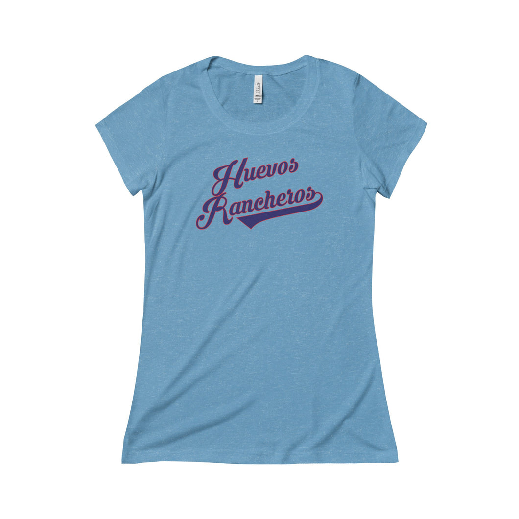 Huevos Rancheros Ladies Slim T-Shirt