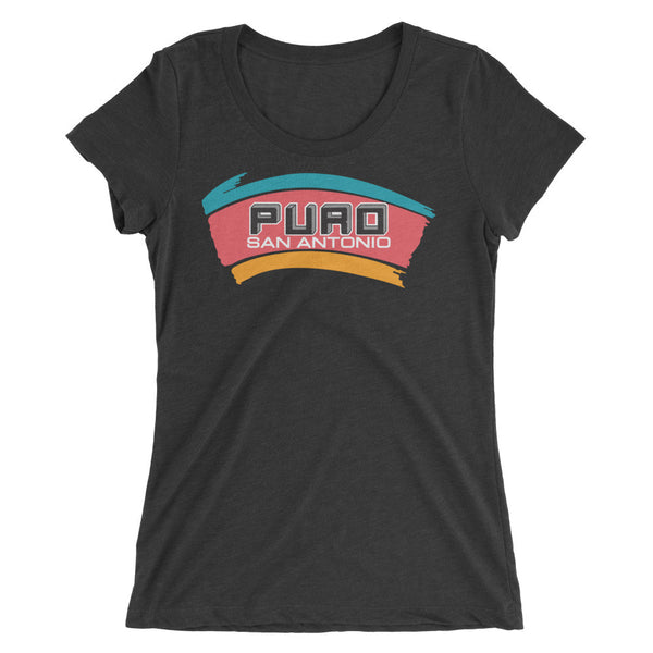 Puro San Antonio Logo Ladies Slim T-Shirt (Limited Edition)