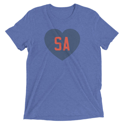 We Love SA Unisex T-Shirt (Blue/Red)
