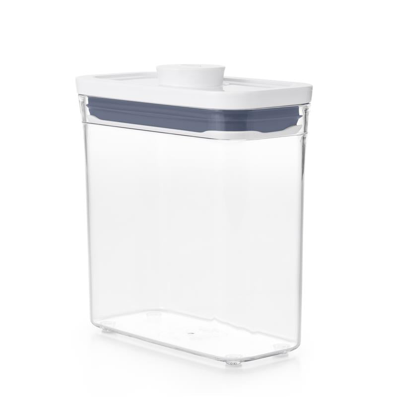 POP 2.0 Slim Rectagle Short Container, 1.1L