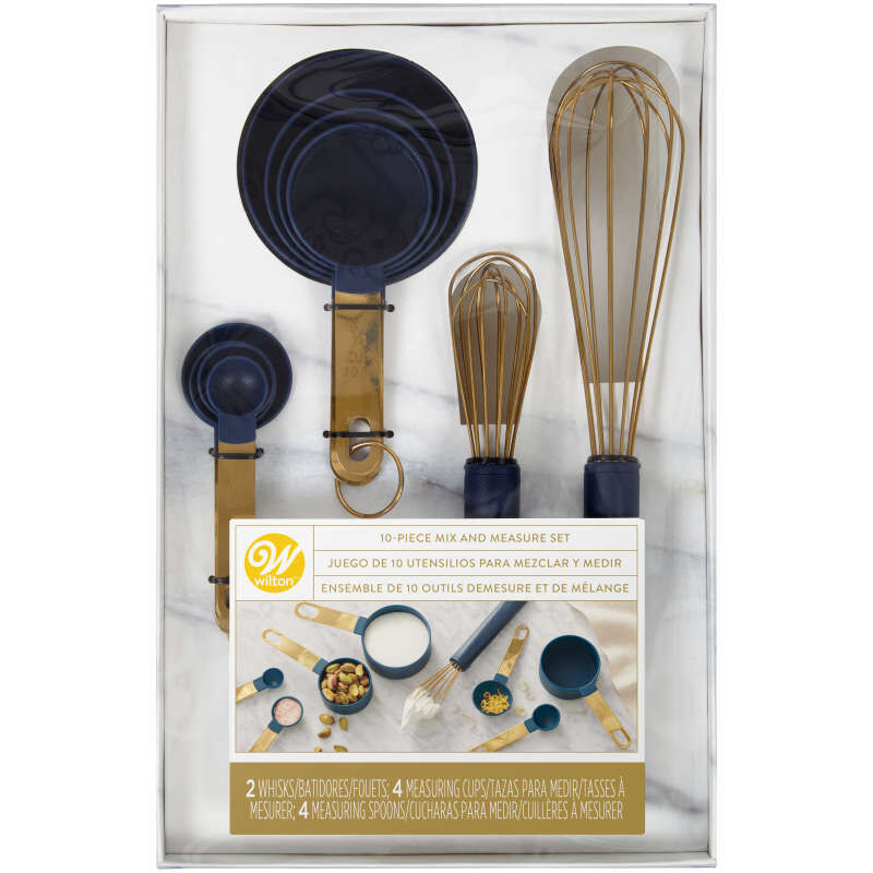 Kitchen Utensil Mix and Measure Set - 10 pc