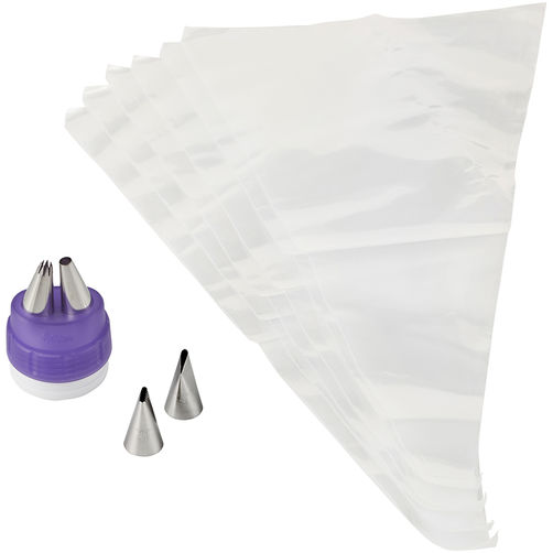Tip Decorating Duo Tip Coupler Set